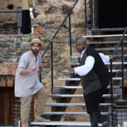 Ian Spinetti und Siyabonga Maqungo